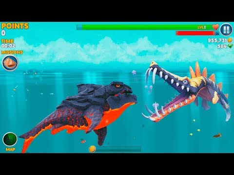 Hungry Shark Evolution Pyro Shark Android Gameplay #42