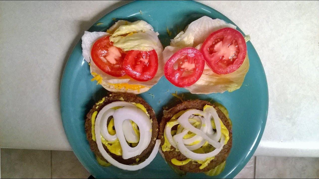 Cast Iron Cooking Morningstar Farms Veggie Burgers Youtube