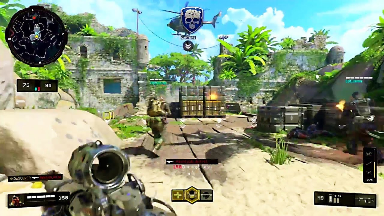 CALL OF DUTY BLACK OPS 4: 10 Minutes of Multiplayer Gameplay - YouTube