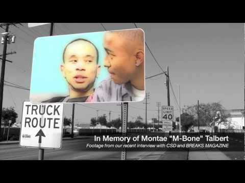 "In Memory of Montae ""M-Bone"" Talbert of Cali Swag District"