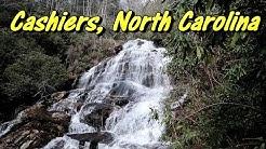 Seeking Waterfalls in Cashiers, North Carolina
