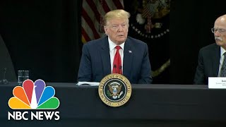 President Donald Trump On Notre Dame Fire: 'A Terrible Sight To Behold' | NBC News