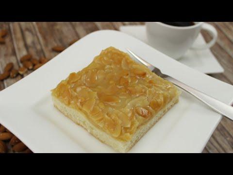 Honig-Mandel-Kuchen (Blech-Kuchen)