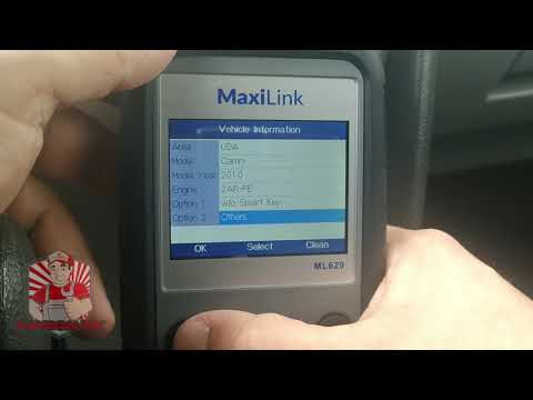 ▶️Autel ML629 Review, Delete Check Engine Lights, ABS, SRS, Transmission Code