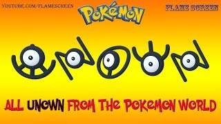 Video-Search for Pokemon Unown Forms