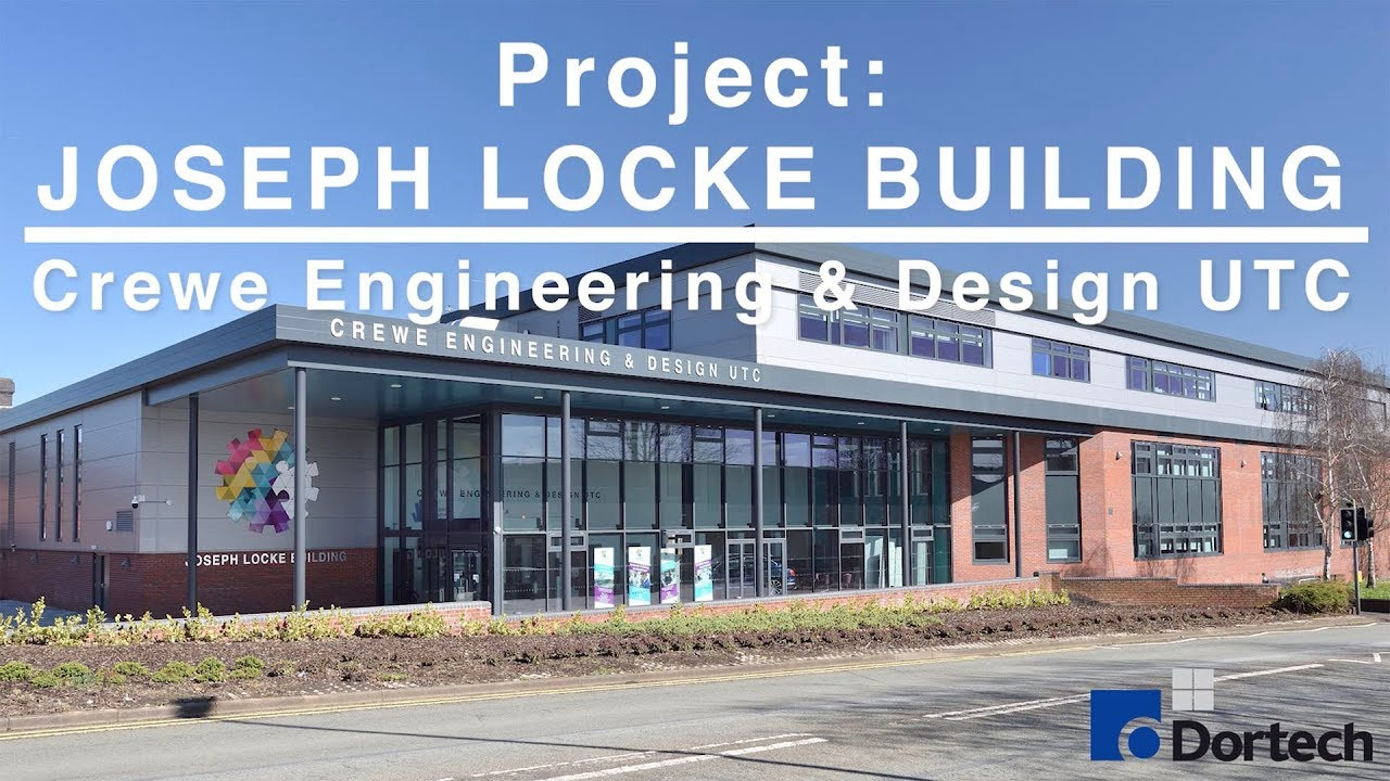 Joseph Locke Building Crewe Engineering Design Utc Dortech Archiutectural Youtube