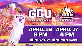 GCU Men's Volleyball vs Concordia  |  April 17, 2021