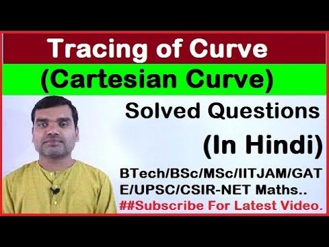 Tracing of Cartesian Curve in Hindi(Part-II)