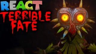 LUIGIKID REACTS TO: MAJORA'S MASK - TERRIBLE FATE (Legend of Zelda: Majora's Mask Fan Film Trailer)
