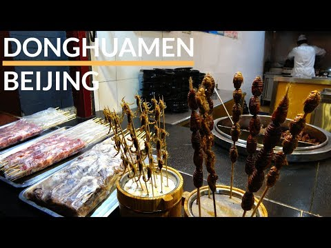 China - Beijing (Peking) - Donghuamen Night Market