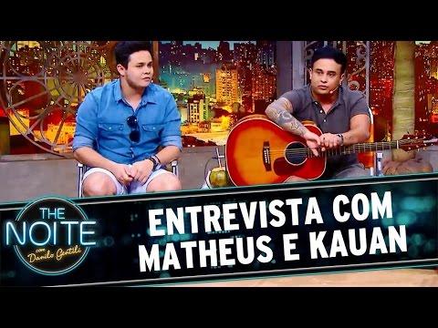 The Noite (28/04/16) - Entrevista com Matheus e Kauan