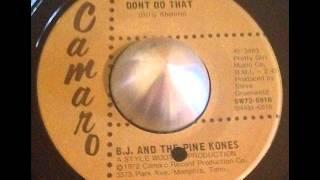 B.J. & The Pine Kones - Don