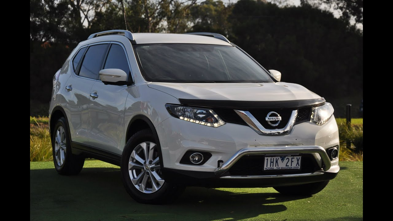 2014 nissan x trail t32 st l wagon review youtube