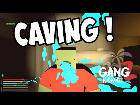 TENDER BUTT'S CAVE BASE - Unturned GangZ S5E04 (Hawaii Map Multiplayer PvP)