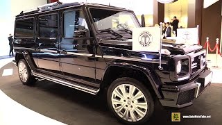 2015 Mercedes G63 AMG Trasco Armored & Extended Premium SUV - Exterior, Interior Walkaround