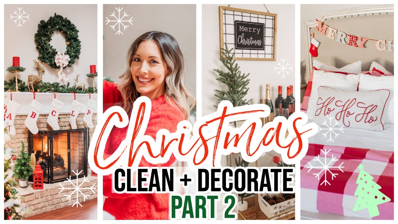 NEW CLEAN + DECORATE WITH ME FOR CHRISTMAS 2020! @Brianna K 2020