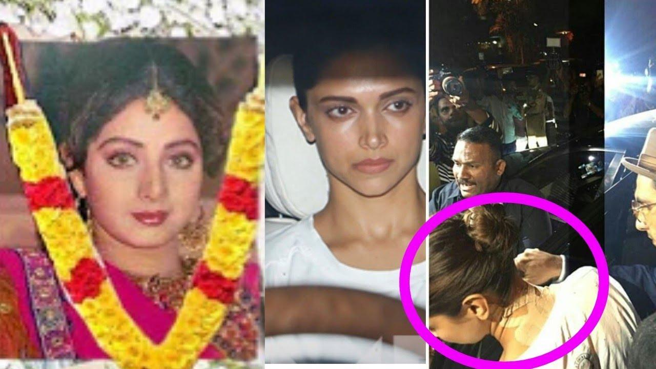 Omg Deepika Padukone Falls Down And Got Injured On Learning Sridevi S News Sad