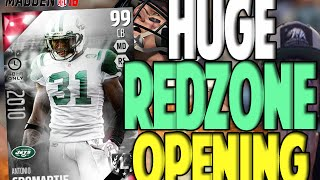 100 MAN COVERAGE!! HUGE REDZONE PACK OPENING | MADDEN 16 ULTIMATE TEAM PACK OPENING