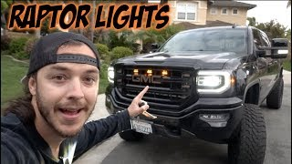 "INSTALL ""RAPTOR"" STYLE LIGHTS IN ANY GRILLE!"