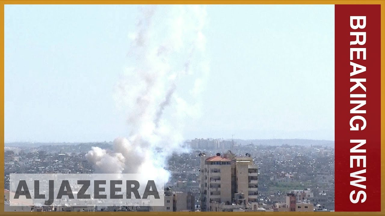 Rockets fired from Gaza day after Israel kills four Palestinians | Al Jazeera Engl