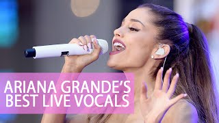 ariana grandes best live vocals