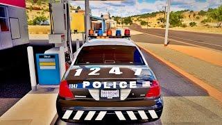 FORZA HORIZON 3 - GOPRO - RACHA COM O CARRO DA POLÍCIA - VOLANTE G27
