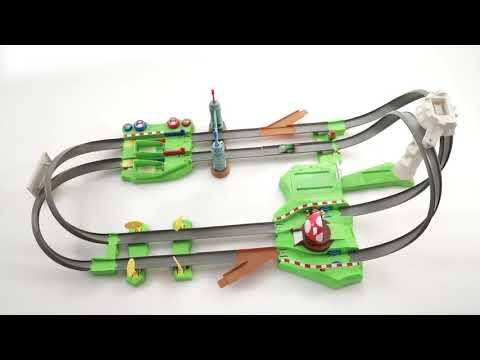 Hot Wheels - Mario Kart Circuit Trackset - Video