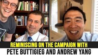 Pete Buttigieg Interviews Andrew Yang