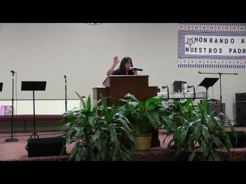 """Hna Blanca Guerra-""""Yo y mi casa serviremos a Jehova"""" Josue 24:15"""