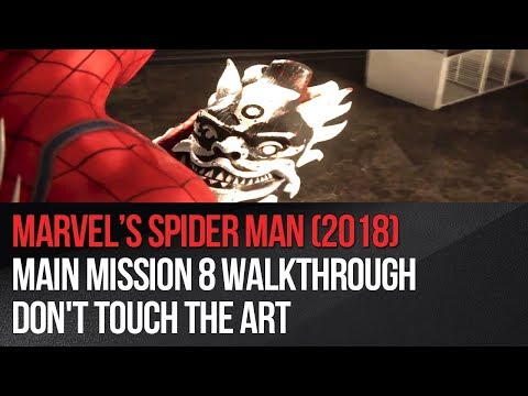 marvel's-spider-man---main-mission-8-walkthrough---don't-touch-the-art
