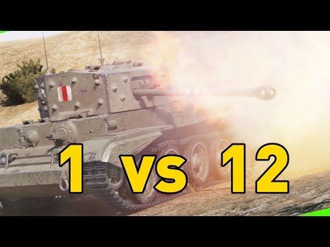 World of Tanks || 1 vs 12