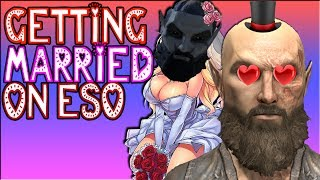 Getting married on The Elder Scrolls Online : Pledge of Mara
