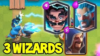 FIRE, ELECTRO AND ICE WIZARD - The