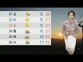[날씨] 전국 흐리고 낮부터 비…오전 한때 미세먼지↑ / 연합뉴스TV (YonhapnewsTV)