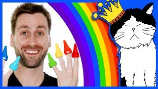 🌈 Learn Colors for Toddlers | Mooseclumps: Rainbow | Kids Learning Videos and Songs for Toddlers