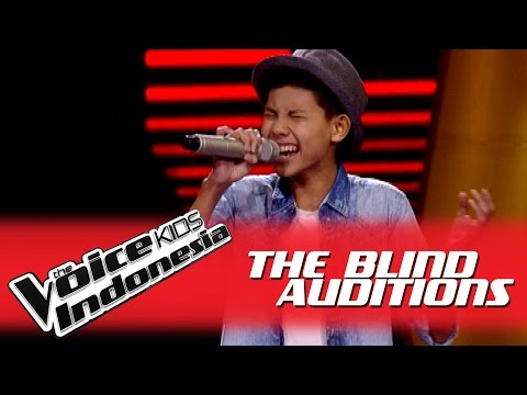 "Auw Genta ""Billionaire"" I The Blind Auditions I The Voice Kids Indonesia GlobalTV 2016"