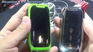Difference between Vaporesso Revenger Go Kit and Revenger X Kit