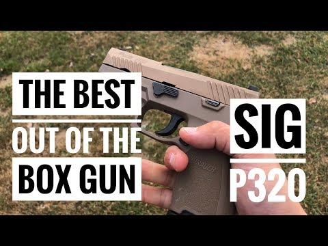 The Quest for the Best Out of the Box Pistol: Sig P320 Part 8
