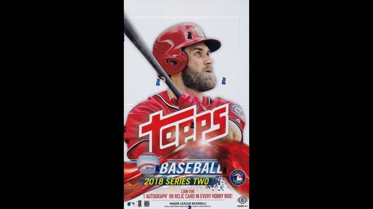 Box Busters 2018 Topps Series 2