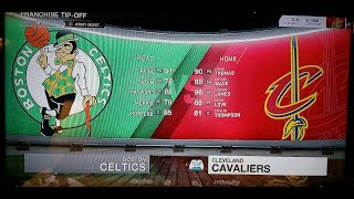 Boston Celtics at Cleveland Cavaliers LIVE 18 2018 NBA Season Opening Day . Kyrie Lebron Wade Love.