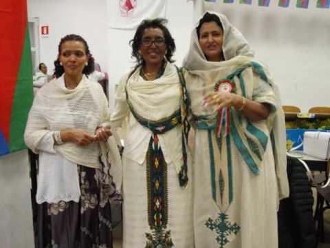 Eritrei in Italia -Celebrazione di 8 Marzo festa della donna a Milano