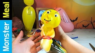 AMAZING BALLOON HOT DOG FOR LUNCH!! | Monster Meal ASMR Eating Sounds | Kluna Tik Style