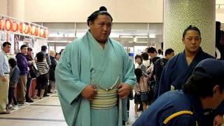 2011年11月27日(日)千秋楽、関取場所入りの模様です。 白鵬の入りがいつ...