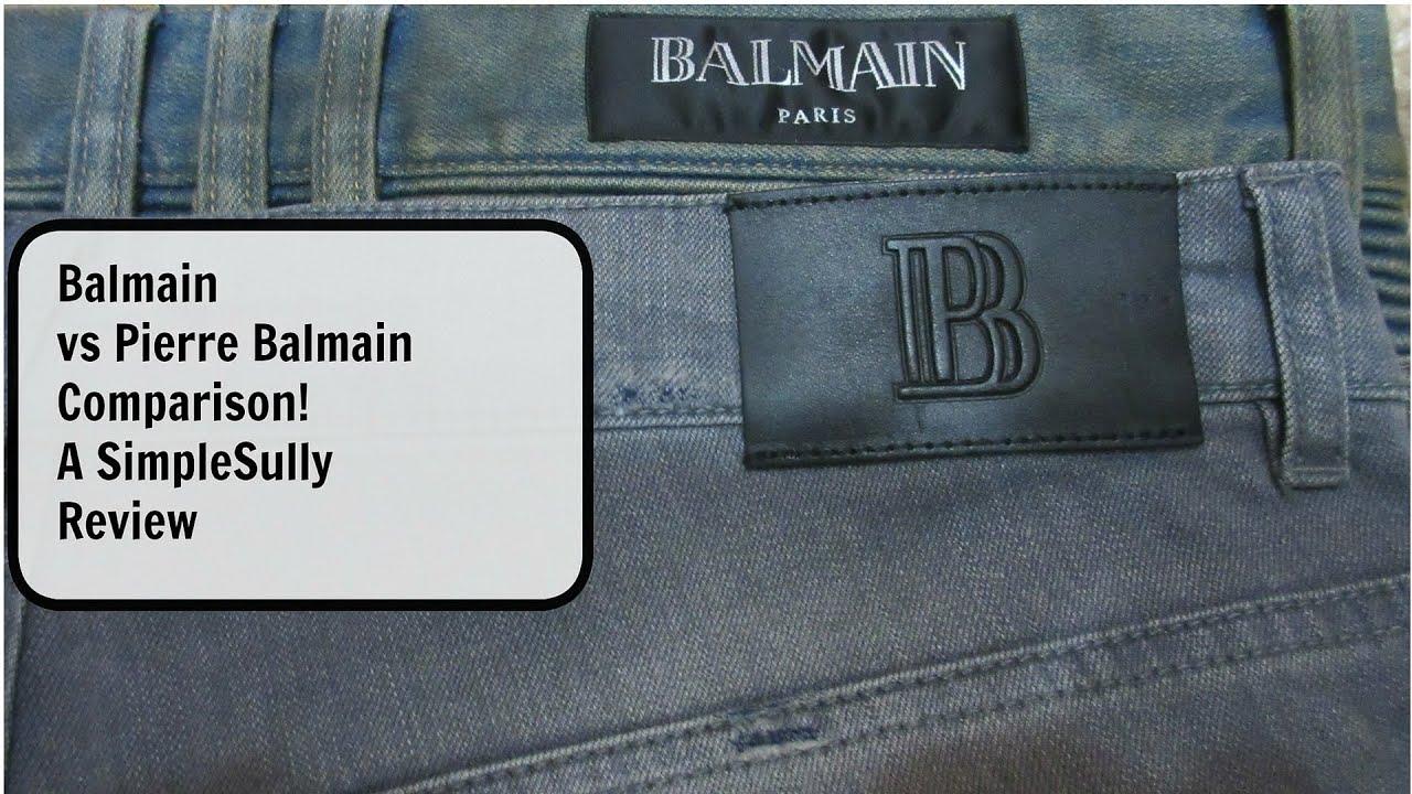 2cf5744f Coupon Balmain Cotton Jeans On Sale Mens Fashion Skinny Jeans   Law ...