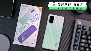OPPO A52 ( Stereo Speakers | Quad Cameras | 5,000mAh ) Unboxing & Hands On