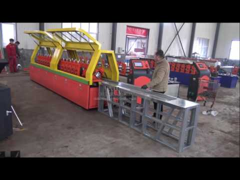 Green house steel slot frame roll forming machine
