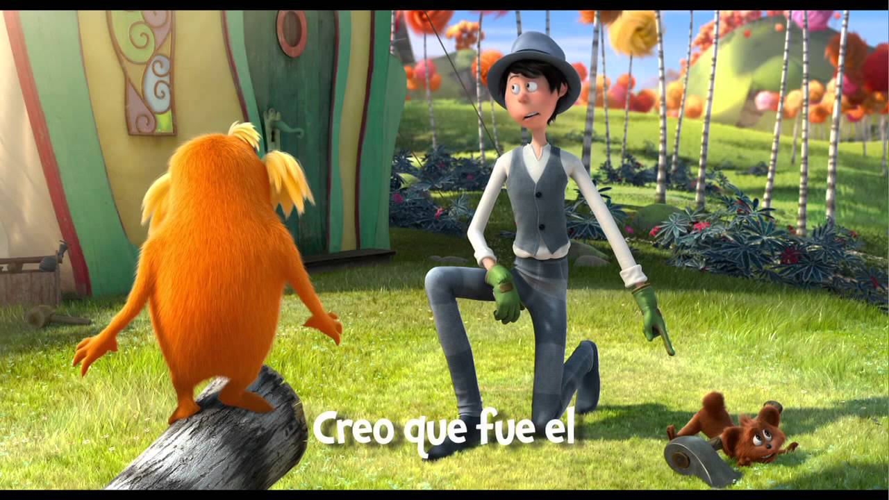 El Lorax - The Lorax Trailer with Spanish Subtitles