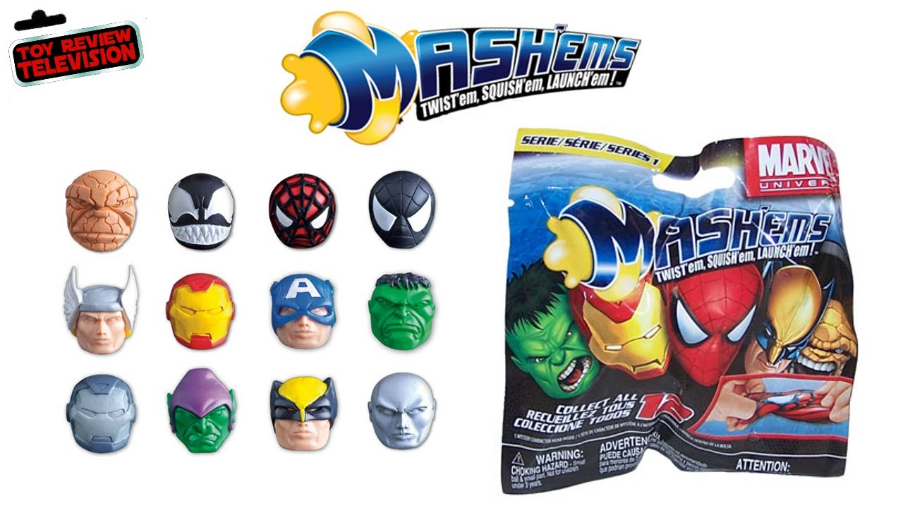 Mash Ems Marvel Universe Series 1 Blind Bag Review Opening