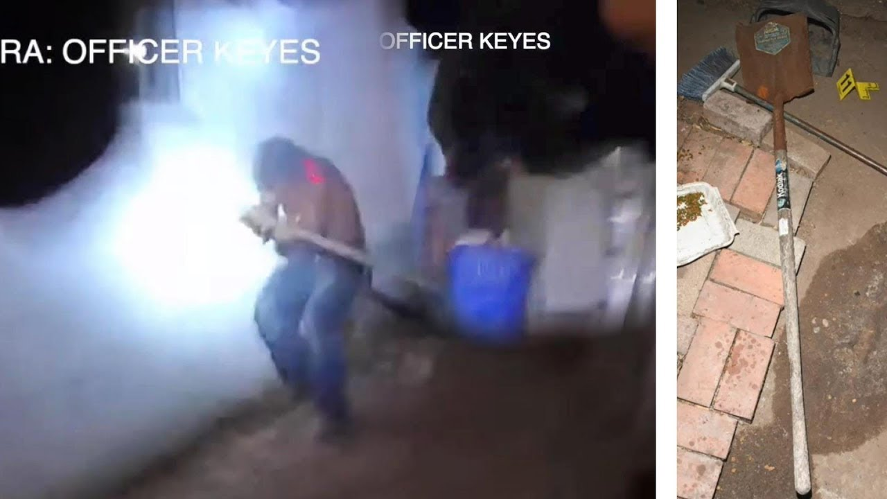 Image result for Body Cam: Man Charges at Officer With a Shovel. Fatal. San Diego Police Department