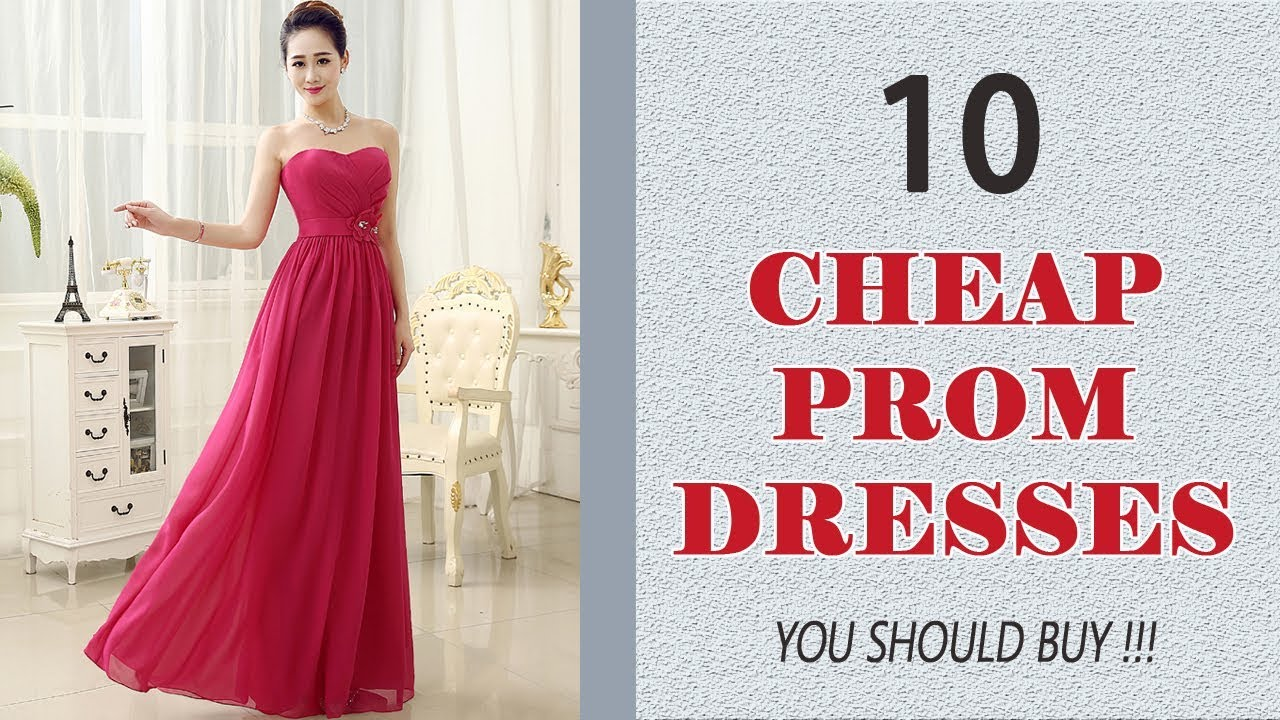 7c1879000ba 10 Best Cheap Prom Dresses 2018 Cheap Prom and Homecoming Dresses Under  100